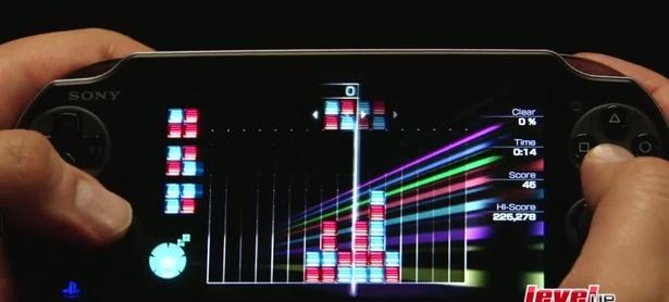 Lumines: Electronic Symphony: Gameplay