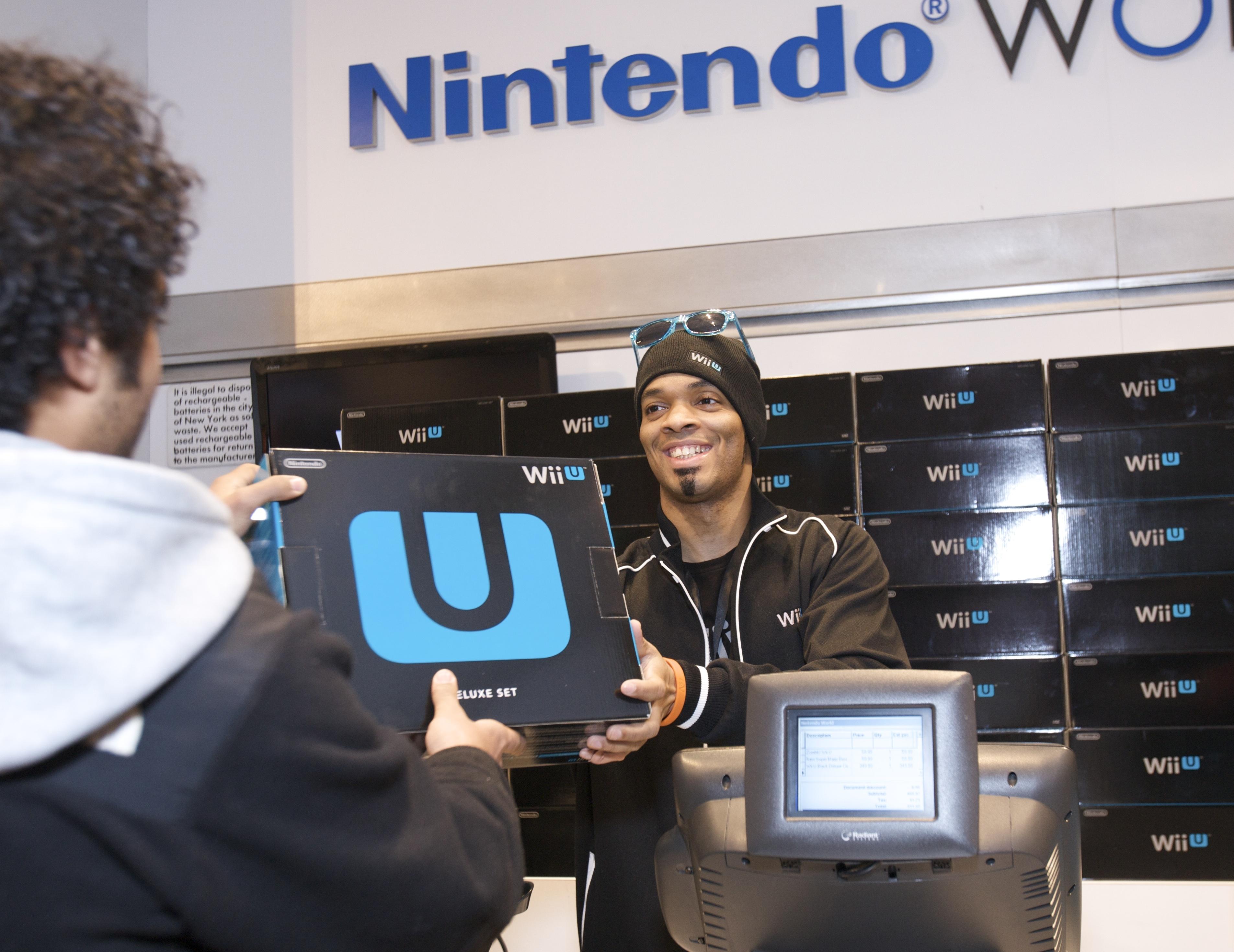 Los fanáticos neoyorkinos se mostraron felices de estar entre los primeros jugadores del mundo en recibir el Wii U.