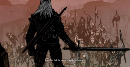 The Witcher 2: Assassins of Kings: Cómic en iOS