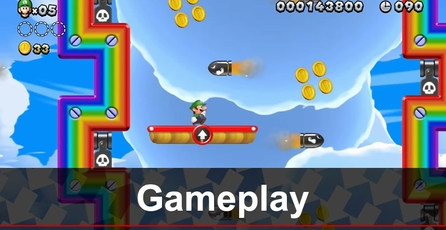 New Super Luigi U: Gameplay
