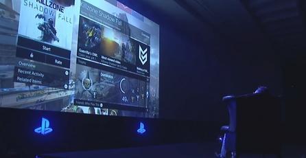 Interfaz del PlayStation 4