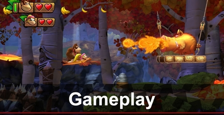 Donkey Kong Country: Tropical Freeze: Gameplay