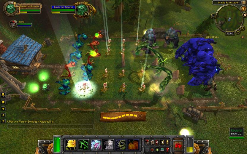 Un pequeño tributo a Plants vs Zombies