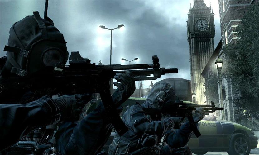 Londres es una de las primeras ciudades en conocer la ira de Makarov y es aquí donde encontramos de nuevo los operativos SAS