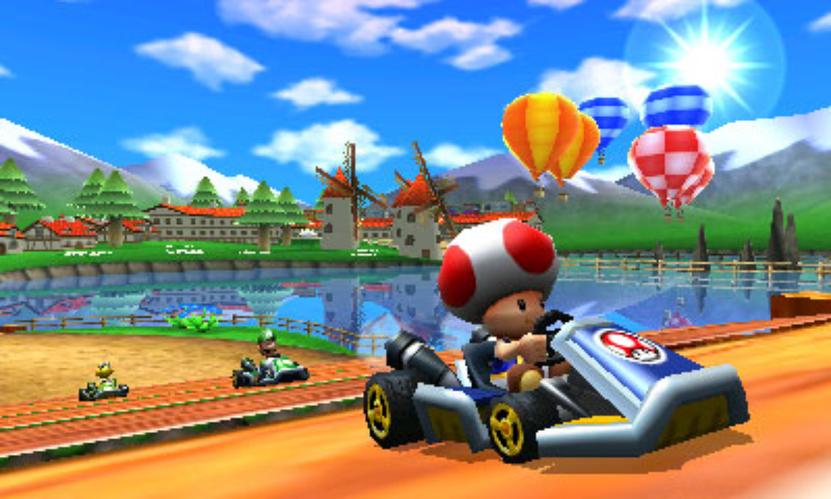 Mario Kart 7 puede ser jugado en perspectiva de primera persona, opción seductora e interesante para quienes acostumbran jugar otros títulos de autos, pero que a efecto de esta franquicia no se ajusta del todo bien y obstruye la visión de los peligros del camino