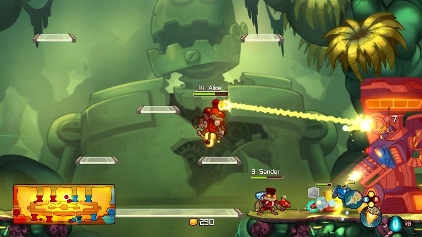 El diseño del juego es genial, cada personaje tiene una personalidad única