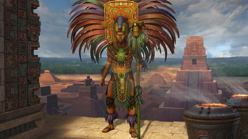 K'inich Janaab' Pakal o Pacal el gobernante de maya llega con esta nueva expansión para celebrar 2012