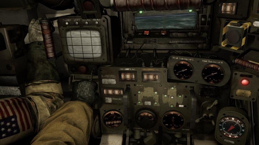 Este es el panel de control; todo tiene una función, todo es interactivo, todo es impreciso