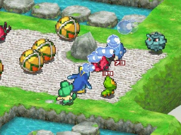 Podrás atacar a las pelotas del escenario para lanzarlas y hacer daño a los enemigos que se encuentren en su trayectoria