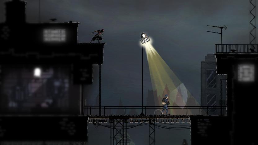 Navegar por los niveles evitando las fuentes del luz será vital para sobrevivir tu aventura