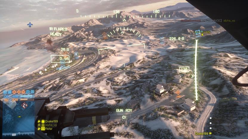 Bandar Desert es el mapa más grande de toda la franquicia de Battlefield, donde se conjugan todos los tipos de combate