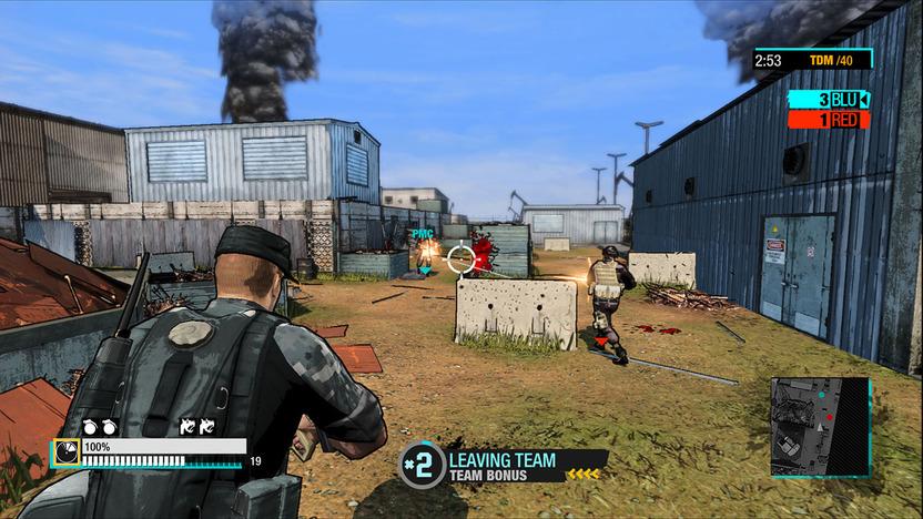 El diseño del juego va de acuerdo con la rapidez y la acción características de los shooters