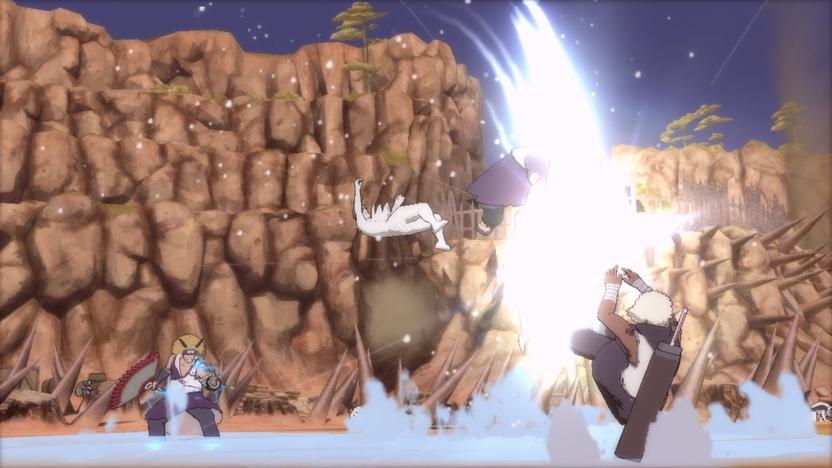 En Ninja Ultimate Storm 3 serás testigo de los acontecimientos de la cuarta gran guerra ninja