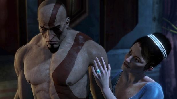 El título muestra un lado más introspectivo del brutal Kratos