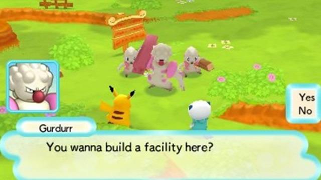 Al rescatar o ayudar a un Pokémon en problemas, recibirás todo tipo de items que te servirán para construir instalaciones y negocios en Pokémon Paradise