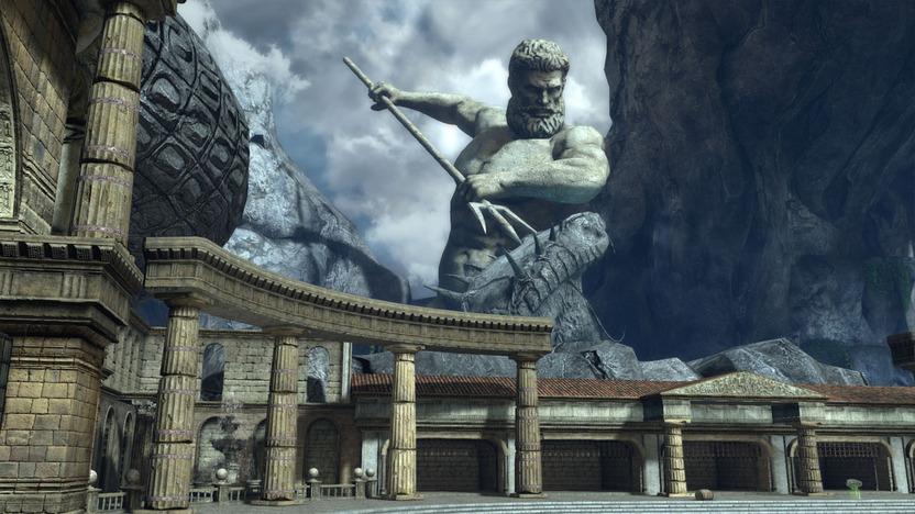 Los escenarios en ocasiones presentan un aspecto mitológico épico con estatuas colosales, pero la frenética acción a veces te impedirá apreciarlos