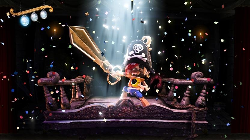 Es probable que el concepto de teatro que maneja Puppeteer se asemeje al de Black Knight Sword, pero las ejecuciones son totalmente diferentes
