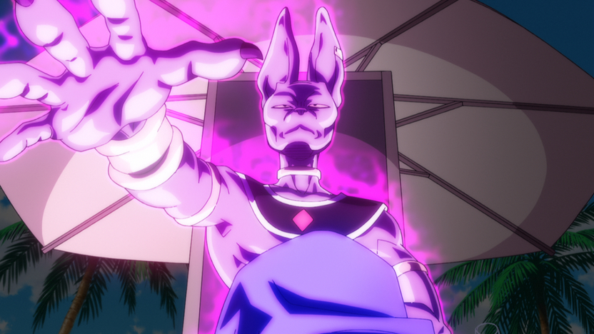 Bills, antagonista de la película, es rico en diseño y personalidad; sin problemas formará parte de los personajes más emblemáticos de Dragon Ball