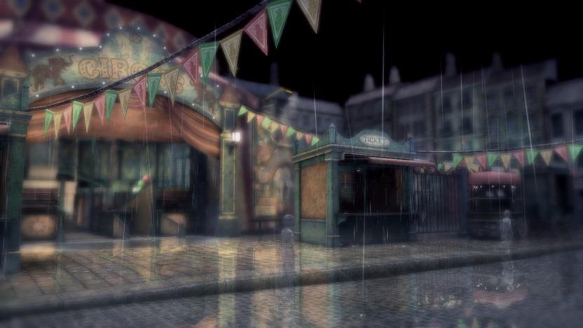Visitarás locaciones variadas; siempre estará lloviendo