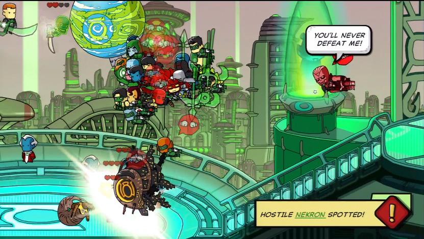 Puedes provocar inmensas peleas al crear 2 grupos enemigos en los cómics