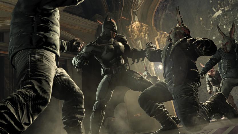 Batman no mata, pero hace sufrir a sus enemigos para que compartan el dolor que padeció tras el asesinato de sus padres: en Origins, esto se ve reflejado más intensamente que en los otros juegos de la serie