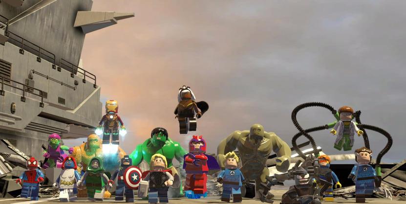El juego, por donde se vea, es fan service puro para los seguidores de Marvel