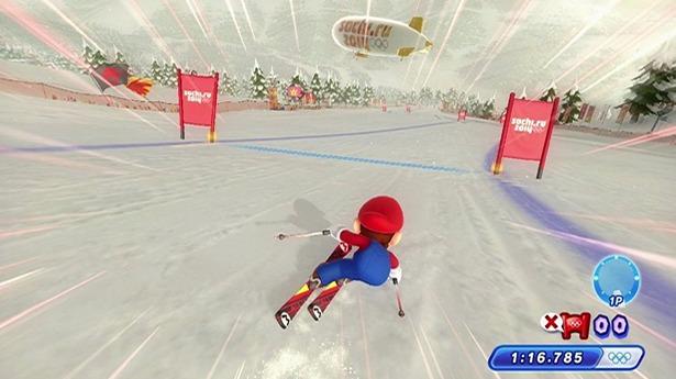 El esquí alpino es uno de los eventos más significativos para el armazón del juego y también uno de los más desangelados