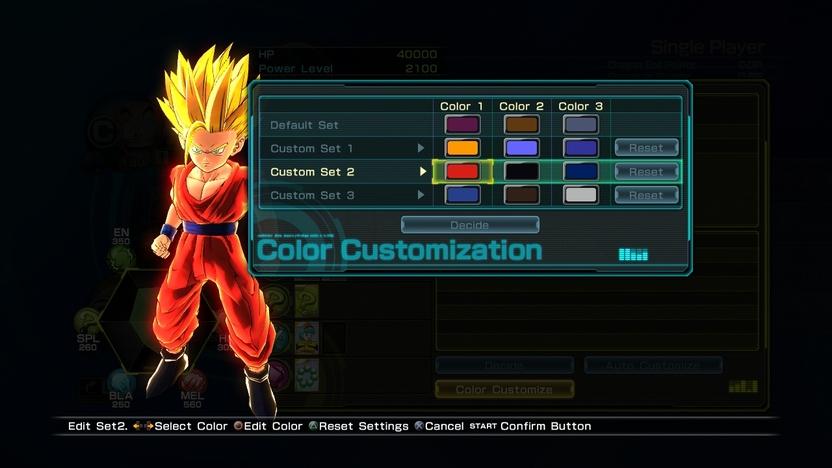 Además de personalizar a tus personajes con tarjetas e ítems, podrás cambiar la paleta de colores de sus vestuarios