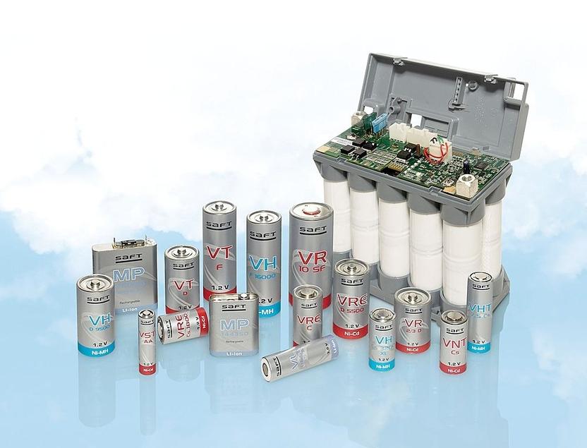 Las baterías recargables son la onda