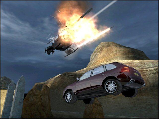 Los capítulos con vehículos estaban llenos de acción y explosiones, y a esto se añadía que la versión de Xbox tenía mejor resolución