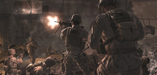 Call of Duty 4: Modern Warfare constituye uno de los saltos temáticos más importante de la historia reciente en los FPS