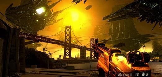 En vista de que las Torres Gemelas son una imagen tabú para aparecer en los videojuegos, la desgracia o la invasión acontece en otros íconos estadounidenses
