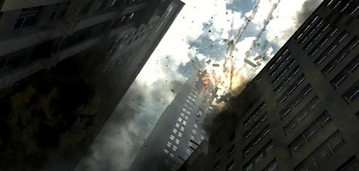 Esta imagen es una copia casi idéntica de un material grabado por un videoaficionado el 11 de septiembre