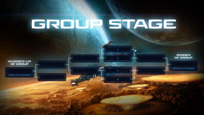 Este es un pequeño ejemplo de cómo la etapa de grupos