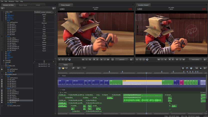 El Source Filmmaker permite realizar cortos de muy buena calidad, gracias a que ofrece herramientas para cuidar hasta el mínimo detalle