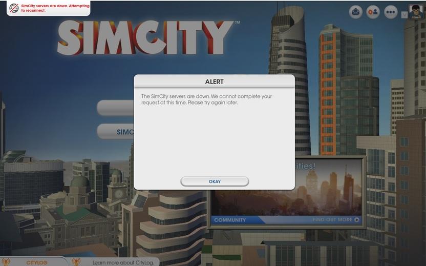 Incluso después de haber entrado al juego, los problemas con los servidores continúan arruinando la experiencia