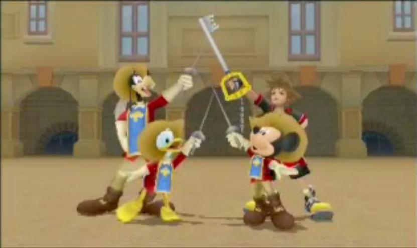 Vuelve a pelear junto a Sora y sus compañeros de Disney