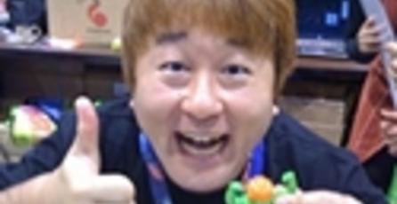 Yoshinori Ono trabaja en un nuevo proyecto