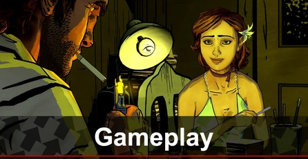 The Wolf Among Us: Gameplay