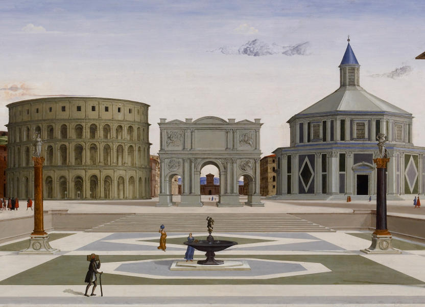 Città ideale, Fra Carnevale, 1480