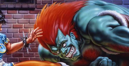 Así luciría <em>Street Fighter II</em> con efecto 3D estereoscópico
