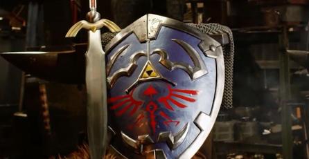 En <em>Man at Arms</em> recrean el famoso escudo de <em>The Legend of Zelda</em>
