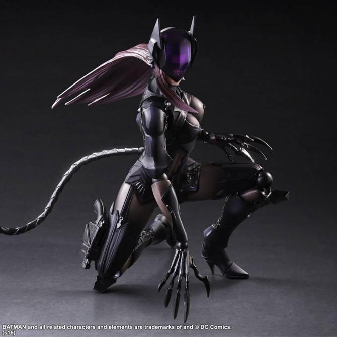 Catwoman al estilo de Square Enix