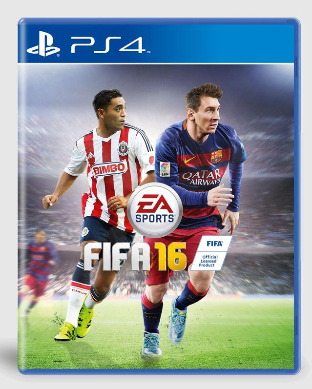 Marco Fabián aparecerá en la portada de FIFA 16 - LevelUp