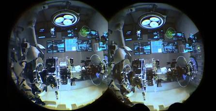 Así es Aperture, el demo de realidad virtual de Valve