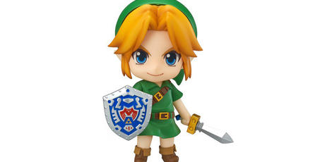 Mira esta adorable figura de Link