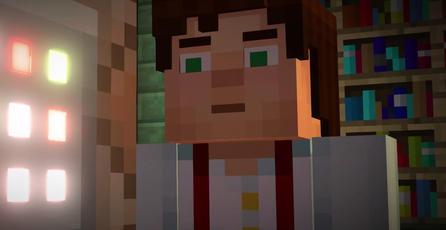 Mira el fantástico trailer de <em>Minecraft: Story Mode</em>