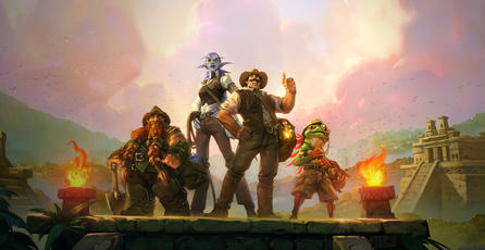¡Ya jugamos <em>Hearthstone: La Liga de Expedicionarios</em>!