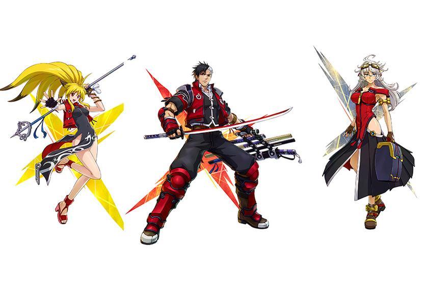 Project X Zone 2 también cuenta con varios personajes originales que le ponen sabor a la historia