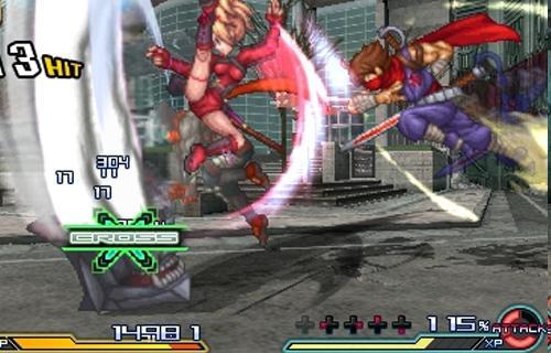 El atractivo de este juego se encuentra en los ataques combinados entre varios personajes